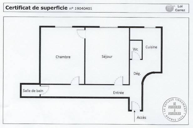Vente Appartement Levallois-Perret (92300) 39m² 315.000€