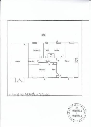 Vente Maison Crosses (18340) 96m² 149.900€
