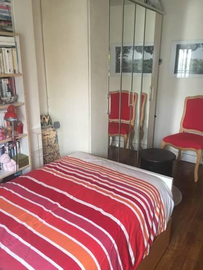 Location meublée chambre 12m² Paris 17E - 470€
