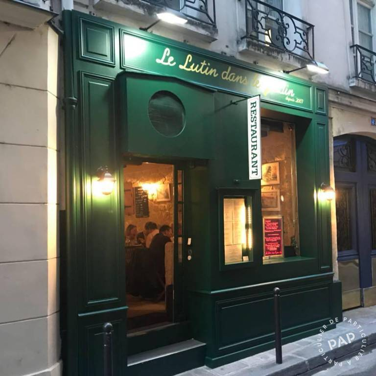 Vente Fonds de commerce Paris 6E  295.000 €