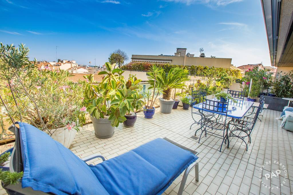 Vente Appartement + 93 M2 De Terrasse - Cannes (06) 90 m² 850.000 €