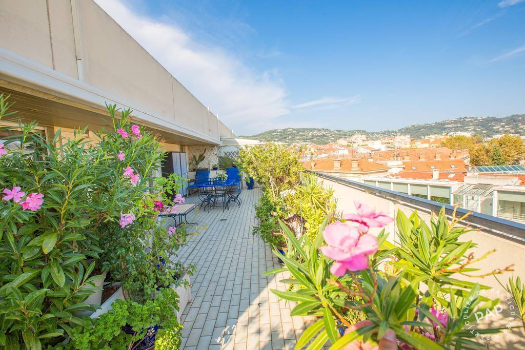 Vente Appartement + 93 M2 De Terrasse - Cannes (06)