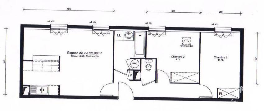 Appartement Limay (78520) 140.000 €