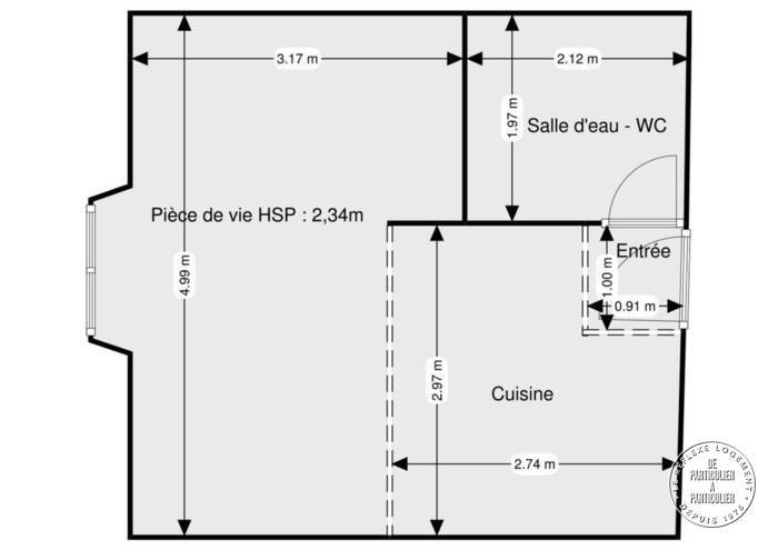 Vente Appartement Rochefort-En-Yvelines (78730) 28m² 101.000€