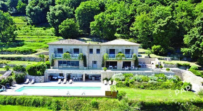 Vente Maison Tourrettes-Sur-Loup (06140) 400m² 3.800.000€