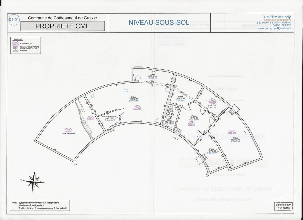 Maison 950.000€ 190m² Chateauneuf-Grasse (06740)