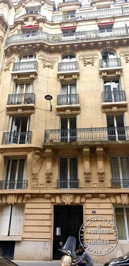 Vente appartement studio Paris 7e