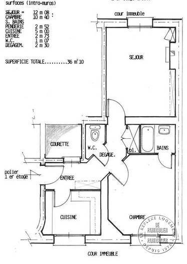 8f4f5889d2c Vente appartement 2 pièces 36 m² Paris 14E - 36 m² - 345.000 €