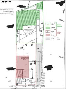 Vente terrain 263m² Sarcelles (95200) - 188.000€