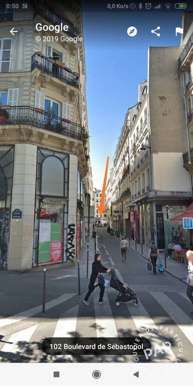 Vente Local commercial Paris 2E