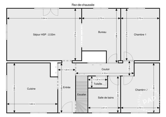 Vente Maison Saint-Didier-Au-Mont-D'or (69370) 120m² 676.000€