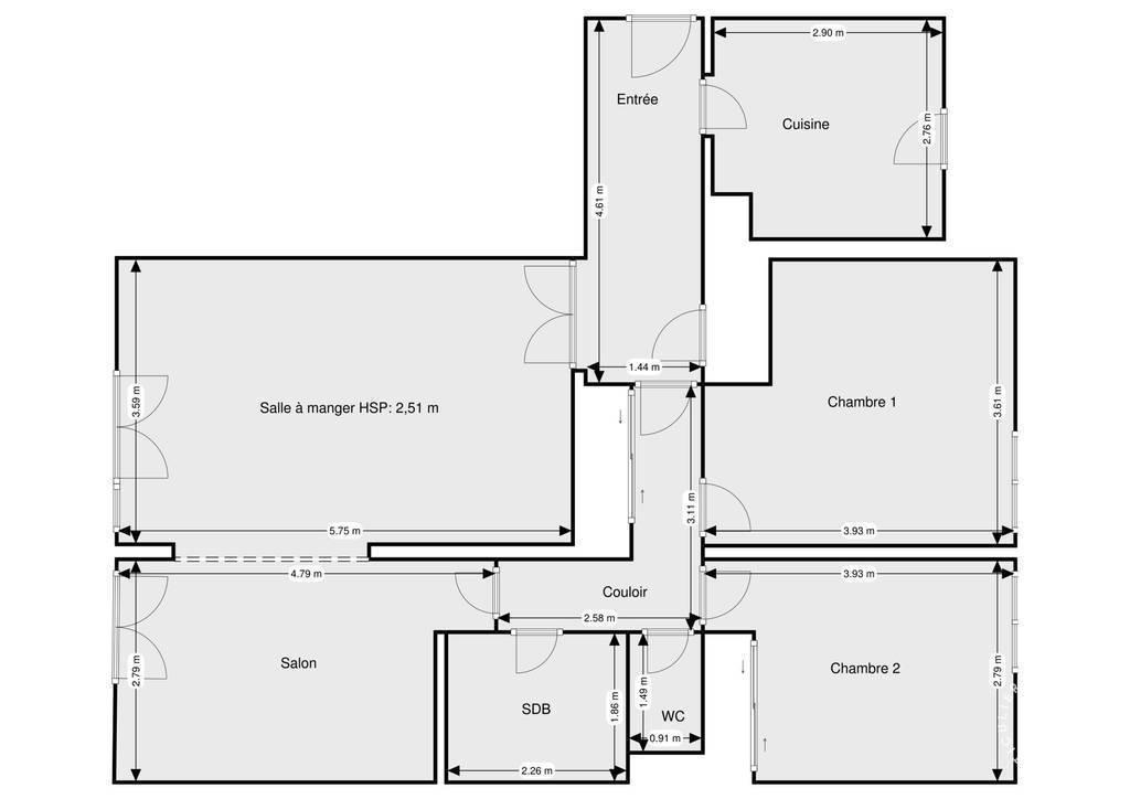 Vente Appartement Frejus (83) 85m² 250.000€