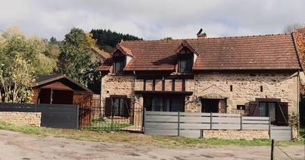 Vente maison 126m² Cussy-En-Morvan (71550) - 143.000€