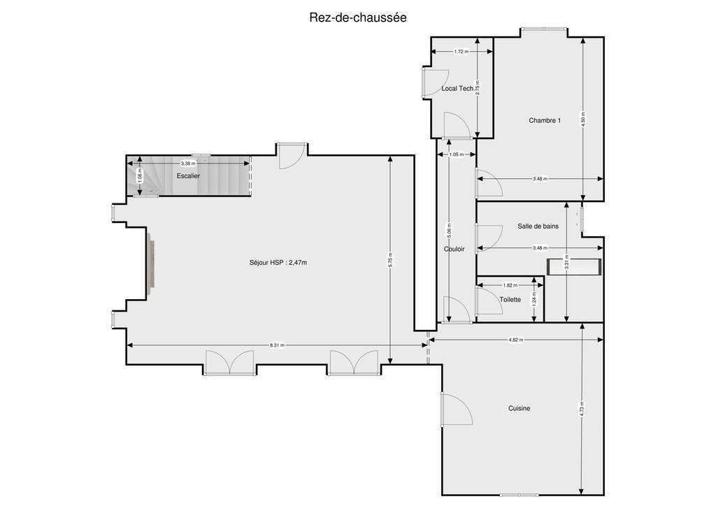 Vente Maison Saint-Philbert-De-Grand-Lieu (44310) 135m² 235.000€