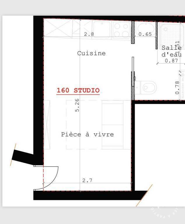 Immobilier Paris 12E 169.000€ 19m²