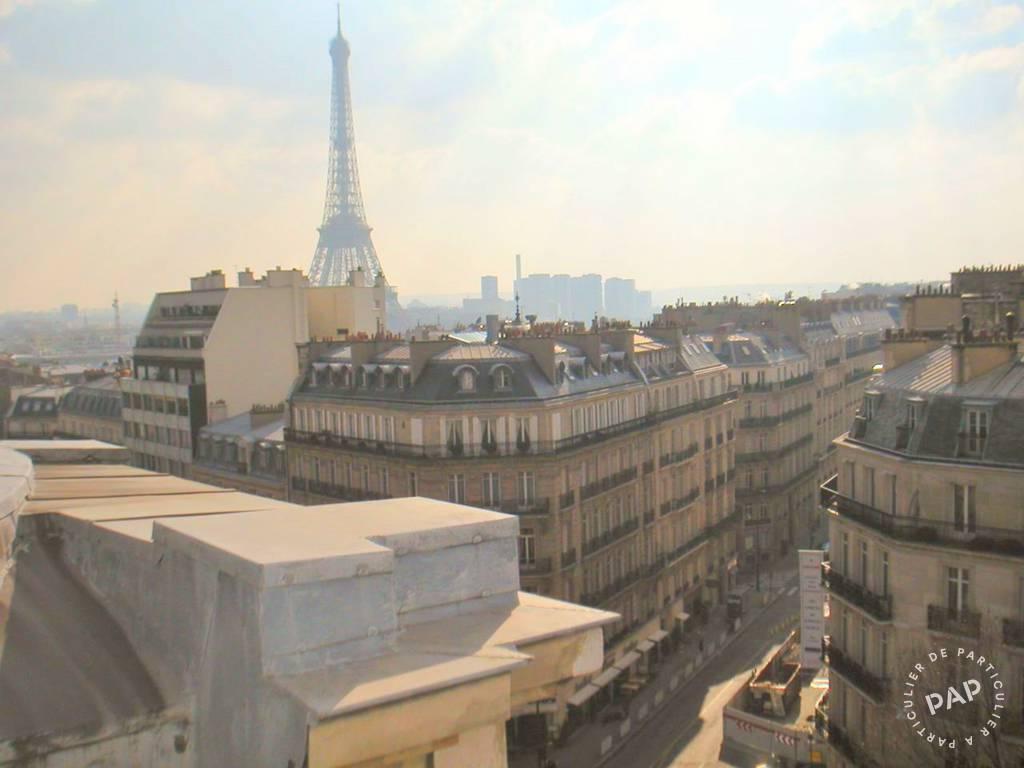 Location appartement studio Paris 8e