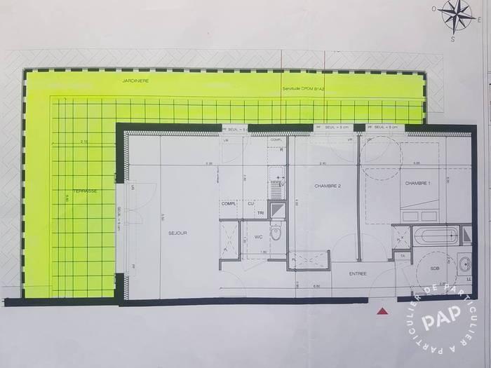 Vente Appartement Saint-Ouen (93400) 63m² 395.000€
