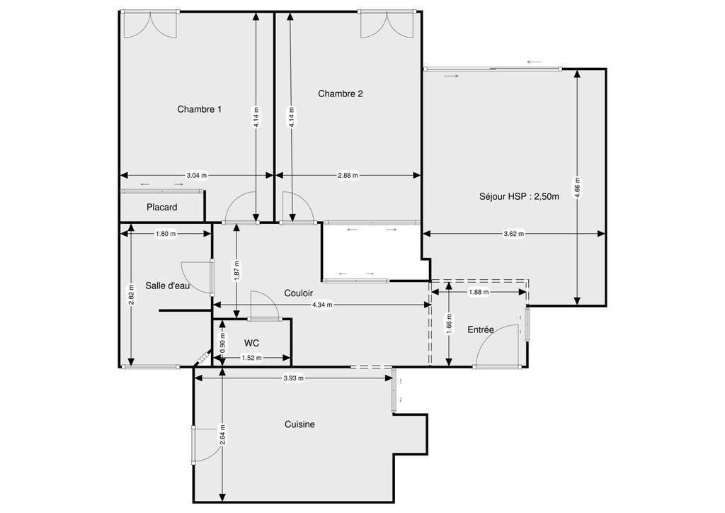 Vente Appartement Gignac-La-Nerthe 72m² 180.000€