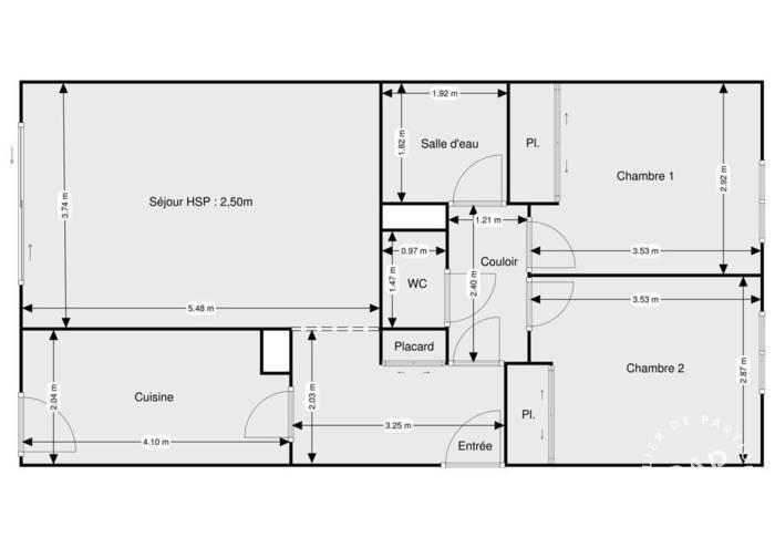 Vente Appartement Cannes (06) 65m² 306.000€