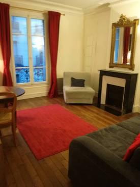 Location meublée appartement 2pièces 44m² Paris 15E - 1.320€