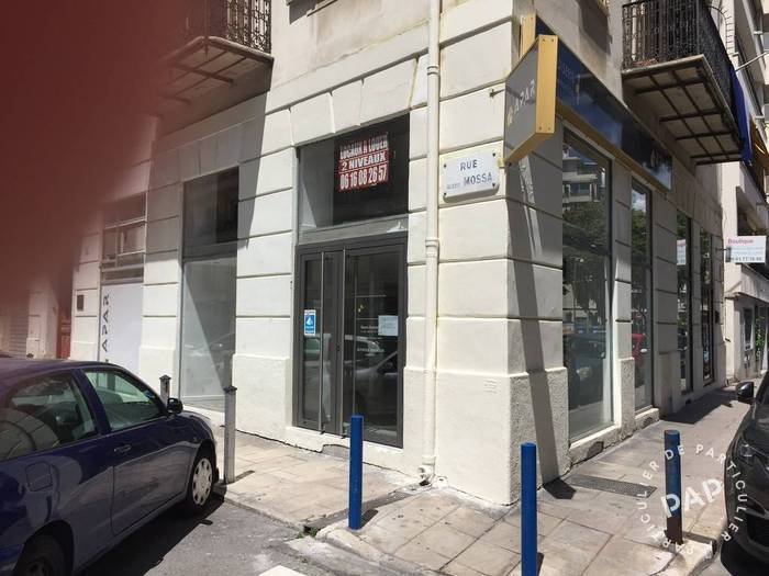 Vente et location Local commercial Nice (06) 100 m² 1.380 €