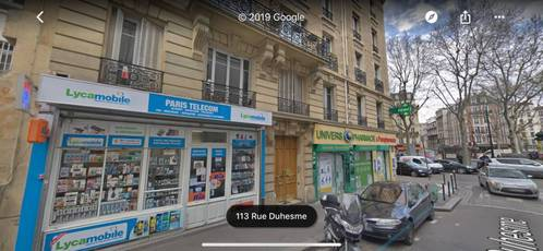 Local commercial Paris 18E - 40 m² - 279.000 €