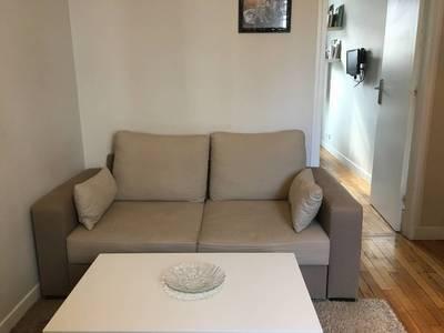 Location meublée appartement 2pièces 29m² Boulogne-Billancourt (92100) - 1.200€