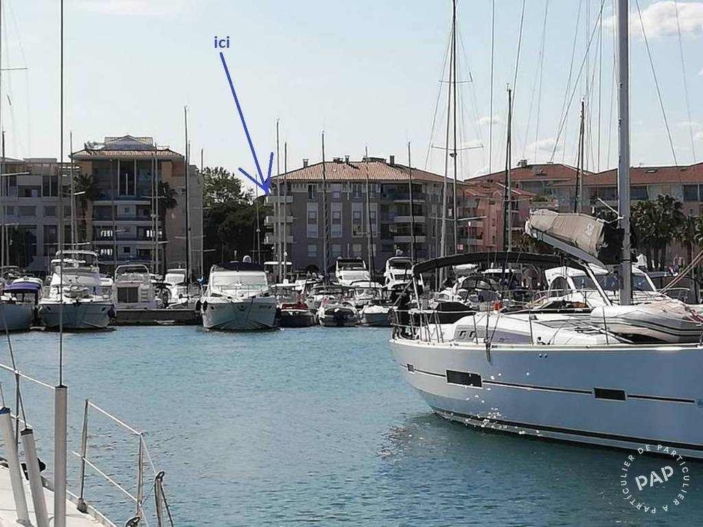 Vente Appartement Port Fréjus 50m² 250.000€