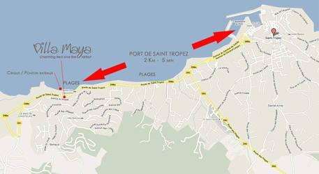 Saint-Tropez / Gasssin En Bord De Mer