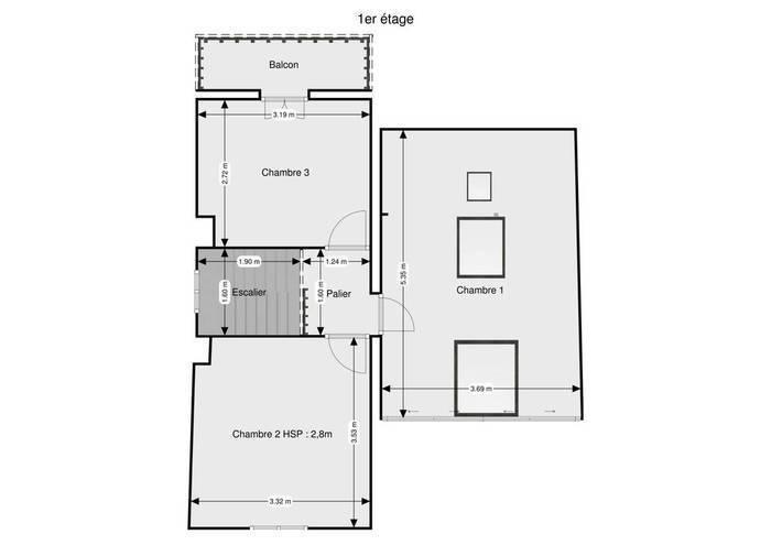 Vente Maison Beauchamp (95250) 98m² 345.000€