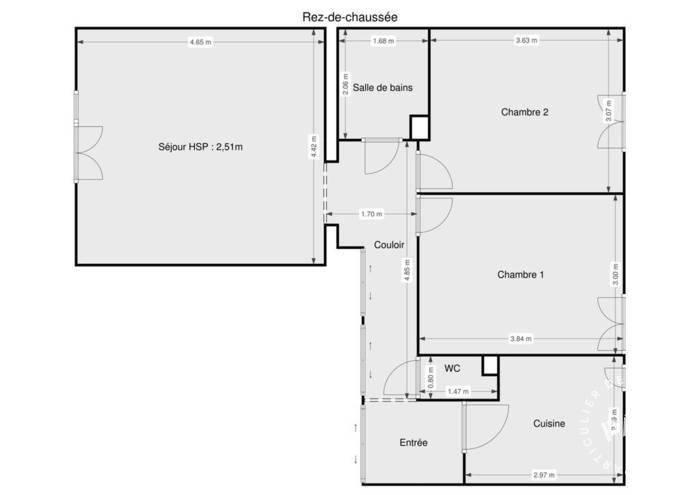 Vente Appartement Etampes (91150) 60m² 120.000€