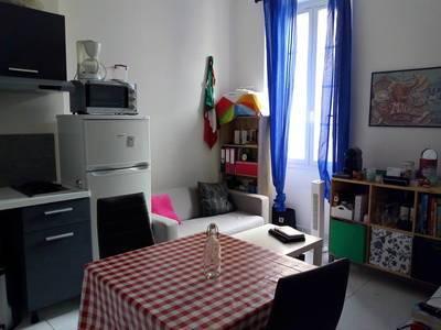 Location meublée appartement 2pièces 30m² Marseille 3E - 550€