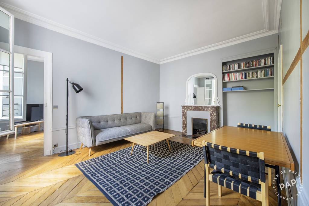 Location Paris 6E 52 m²