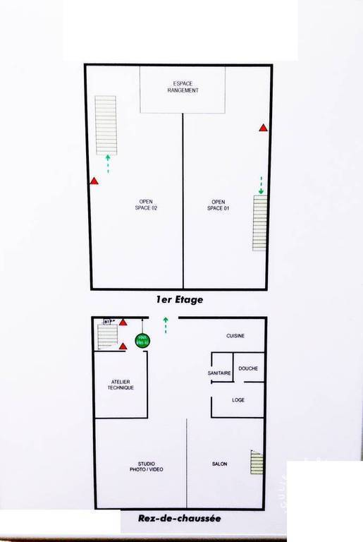 Bureaux et locaux professionnels 170m²