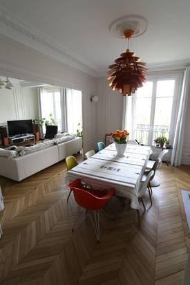 Location meublée appartement 4pièces 120m² Paris 11E - 3.400€