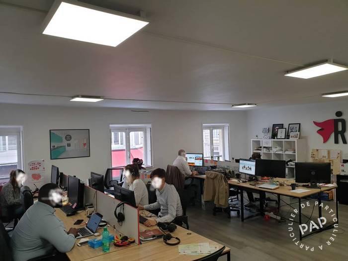 Location Bureaux et locaux professionnels Paris 2E 90m² 5.500€
