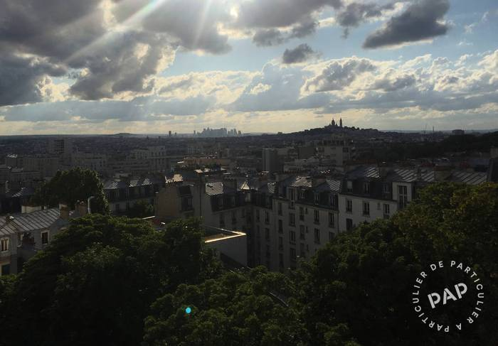Vente appartement studio Paris 19e