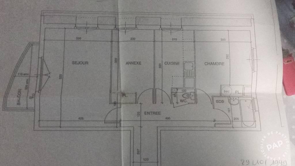 Vente Cergy (95) 60m²