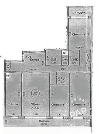 Immobilier Paris 12E 750.000€ 92m²