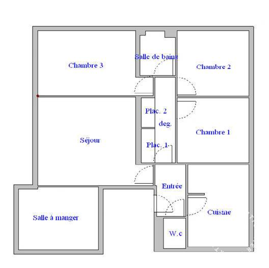 Immobilier Versailles (78000) 358.000€ 80m²