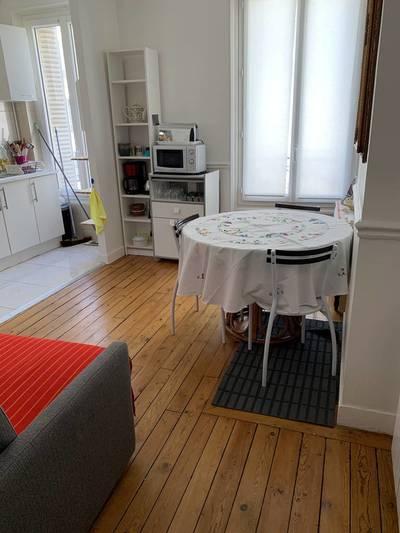 Location meublée appartement 2pièces 35m² Paris 20E - 1.250€