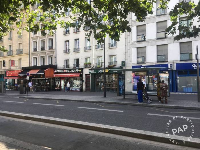 Vente Local commercial Paris 19E