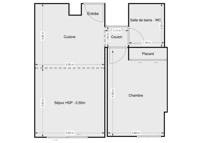 Vente Appartement Folelli 51m² 118.000€