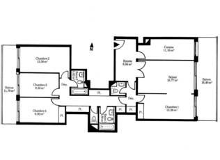 Vente appartement 5pièces 113m² Paris 14E - 1.950.000€