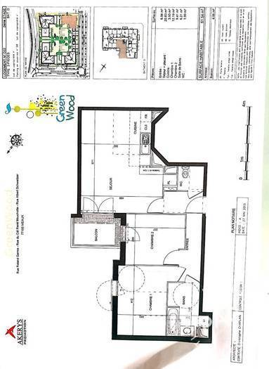 Location Appartement Meaux (77100) 62m² 890€