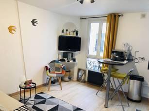 Location meublée appartement 2pièces 29m² Paris 18E - 1.400€