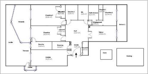 Vente appartement 4pièces 113m² Nice (06) - 540.000€