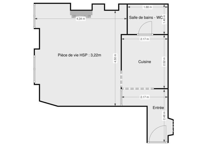 Immobilier Paris 6E 476.000€ 29m²