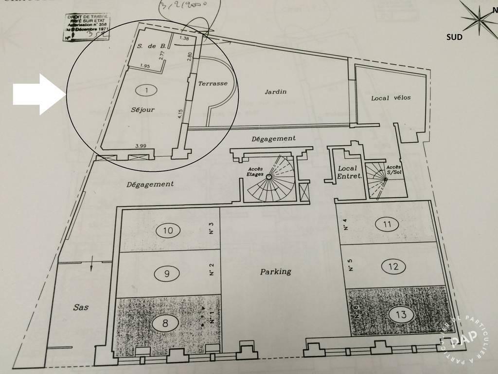 Immobilier Enghien-Les-Bains (95880) 168.000€ 28m²