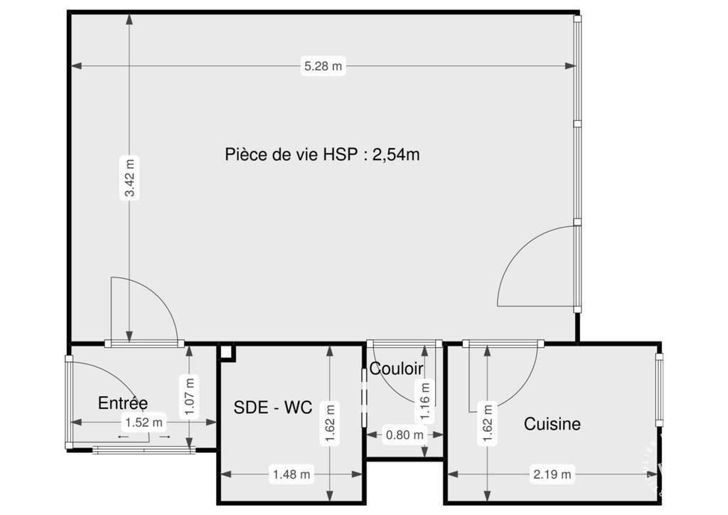 Immobilier Aubergenville (78410) 98.000€ 30m²